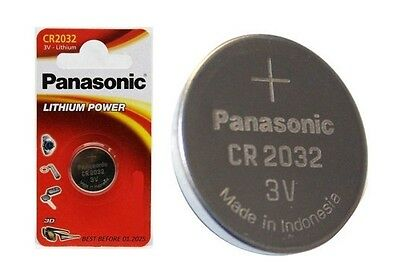 Panasonic Cr2032 2032 Battery Coin Cell Lithium Batteries 3V Pack Of 1,2,4,6--24