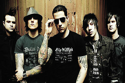 9 Avenged Sevenfold Photo Heavy Death Metal Print Rock Band Picture Music Poster