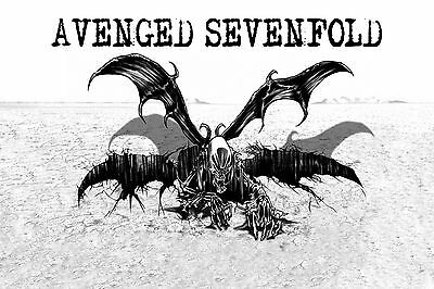 11 Avenged Sevenfold Artwork Heavy Metal Print Rock Band Picture Music Poster