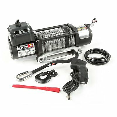 Winch High Performance  Synthetic Rope 8,500 lbs Remote & Fairlead 15100.31