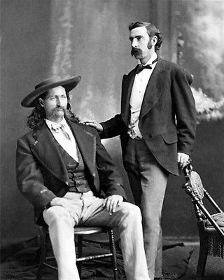 Old West WILD BILL HICKOK James Butler Glossy 8x10 Photo Lawman Print Poster