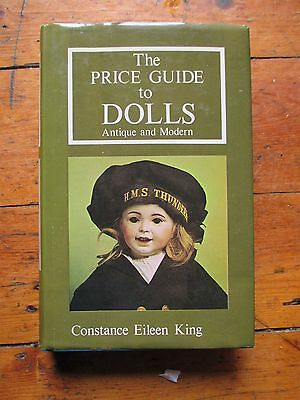 THE PRICE GUIDE TO DOLLS ANTIQUE AND MODERN Collectors' Club 1977 Illustrated A1