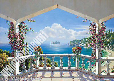 Dolls House Wallpaper Mural 1/12th scale Quality Paper #07