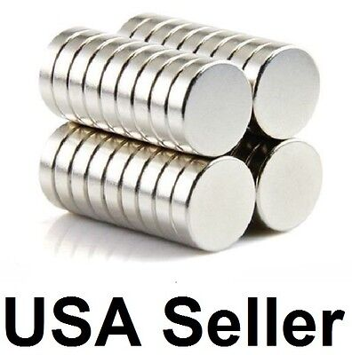 lot 100 50 12mm X 3mm Neodymium Disc Strong Rare Earth N35 Small Fridge Magnets