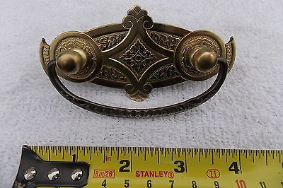 Antique Cast Brass and Metal Pull
