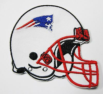 Lot Of (1) Nfl New England Patriots Embroidered Helmet Patches Item # 14