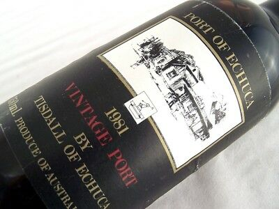 1981 TISDALL WINES Vintage Port Isle of Wine
