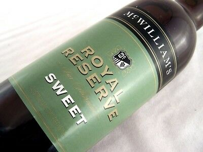 2000 circa NV McWILLIAMS Royal Reserve Sweet Sherry Isle of Wine