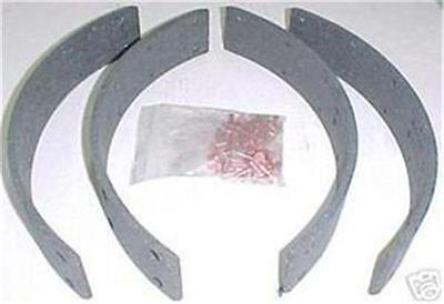 Ford Dexta And Super Dexta Tractor Brake Shoe Lining Kit 957E2021B