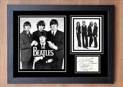 The Beatles Signed / Autographed And Framed Print