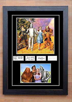 Wizard Of Oz Signed / Autographed And Framed Print