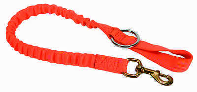 Weaver Leather Orange Bungee Arborist Chain Saw Strap with Ring and 225 Snap