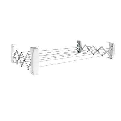 Leifheit Teleclip 100 wall mount indoor outdoor clothes airer dryer, 3 year wty