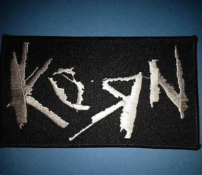 Korn Hard Rock Music Iron On Hat Jacket Backpack Hoodie Metal Patch Crest F