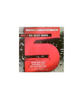 """[EX02818] Red 5 """"Da Beat Goes... / I Love You... Stop!""""  - 12"""" Do It Yourself En"""