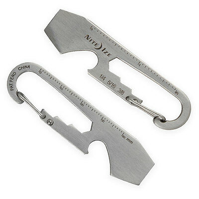 Nite Ize DOOHICKEY KEYTOOL EDC Tool Multi-Tool Bottle Opener Screwdriver Cutter