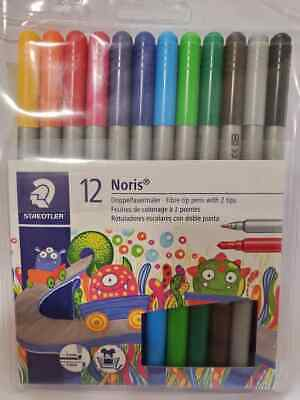 Staedtler Noris Club Double Ended Fibre Tip Pens 10/Pack Assorted 320NWP10