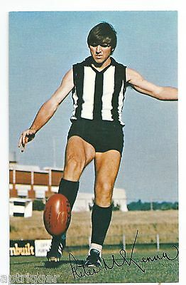 1971 Mobil Football Card (26 of 40) Peter McKENNA Collingwood Near MINT