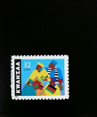 1997 32c Kwanzaa, African-American Culture Scott 3175 Mint F/VF NH