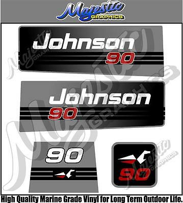 JOHNSON - 90hp - OUTBOARD DECALS