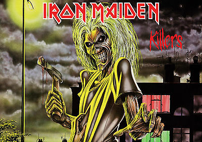 Iron Maiden 9 Heavy  Rock Band  Poster Print  A4 A3