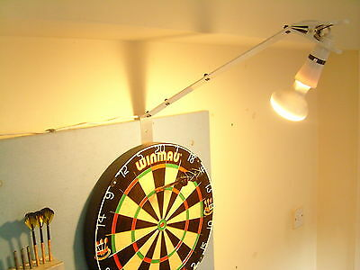 Powerful, Bright Dartboard Spot Light Kit - Fast Set Up - Pub, Club, Home Use