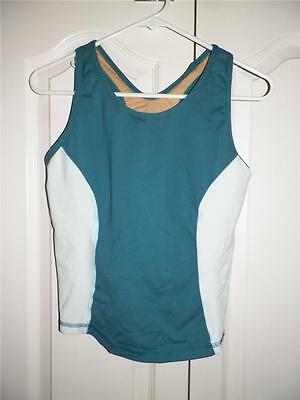1cc5750243086 LULULEMON ATHLETICA MESH Panel POCKET Yoga Work Out Tank Top Size 10 ...
