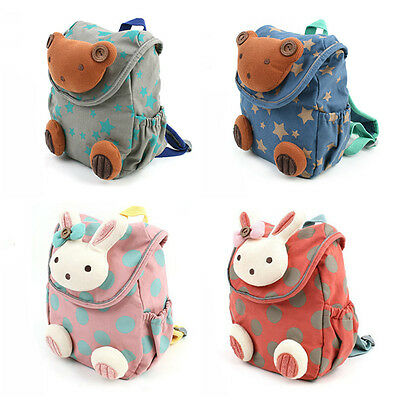 Kid Toddler Safety Harness Anti lost Bear Rabbit Backpack Strap Walker Baby Bags