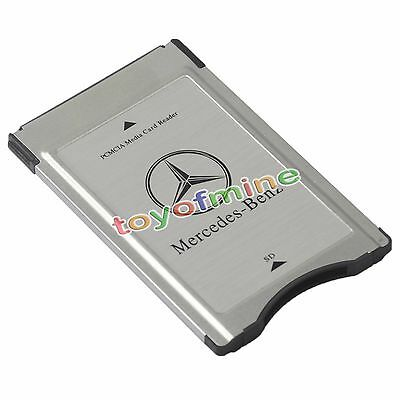 NEW PCMCIA TO SD PC CARD ADAPTER Supoort SDHC for Mercedes-Benz