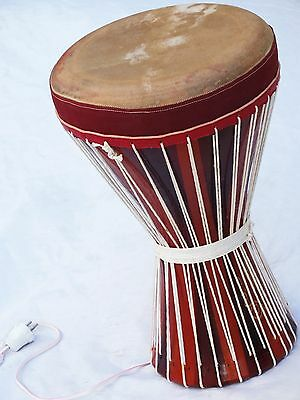 Unosell ::  Percussion  Clay Doumbek Darbuka W Light New