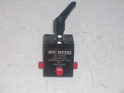 Spx Hytec 100970 Remote Mounted Control Valve
