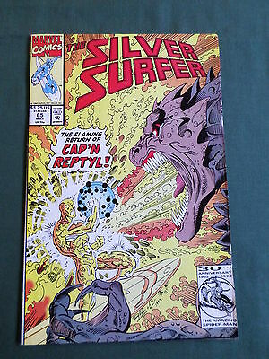 The Silver Surfer - Marvel Comic-Usa- May 1992  - Vol3 #65   - Vg