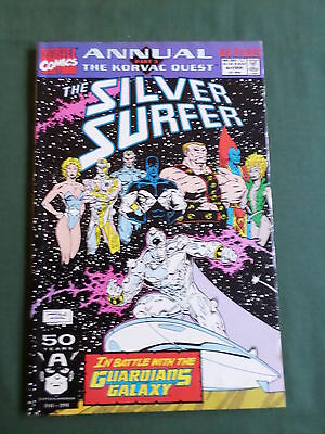 The Silver Surfer Annual - Marvel Comic-Usa  -1991  #4   - Good
