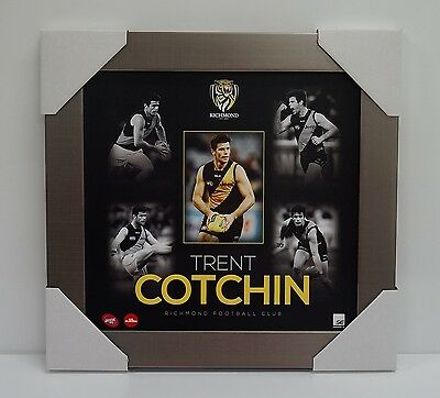 Trent Cotchin Richmond Tigers 2015 Official Afl Player Print Framed