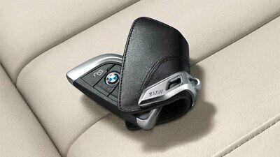 BMW Genuine Key Holder Fob Leather Case/Cover Luxury Black F15 X5 82292344033
