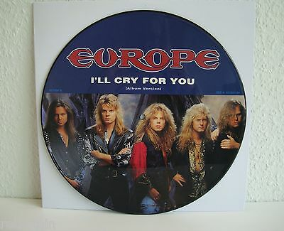 Europe | I'll cry for you | Picture | Epic  von 1991 | LP: Very Good + | Vinyl