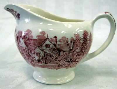 Creamer, Romantic England, 2 Manor House Scenes Sandford Orcas & Upcerne Red
