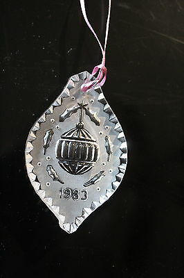 Waterford Crystal 1983 Christmas Ornament