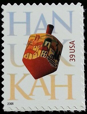 2006 39c Hanukkah, Festival of Lights Scott 4118 Mint F/VF NH