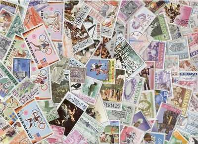 Liberia Stamp Collection - 100 Different Stamps