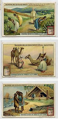 Full Set, Liebig (OXO) S1182, Primitive People (X6) 1926 VG-EX (Gu097-322)