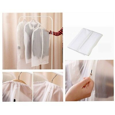 Clear Washable Coat Dress Suit Clothes Garment Protective Cover Storage Bag