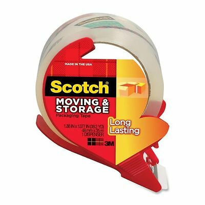 """Scotch Long Lasting 2"""" Packing Tape with Dispenser - MMM3650SRD"""