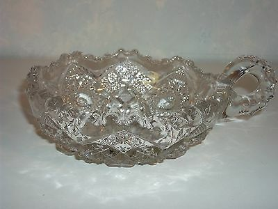 ANTIQUE 1909 IMPERIAL GLASS NAPPY