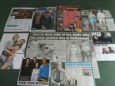 Owen Wilson - Film Star  - Clippings /cuttings Pack