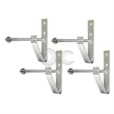 Wheel-Holder Set 4 Staffe Porta-Ruote Salvaspazio Stoccaggio Pneumatici Garage