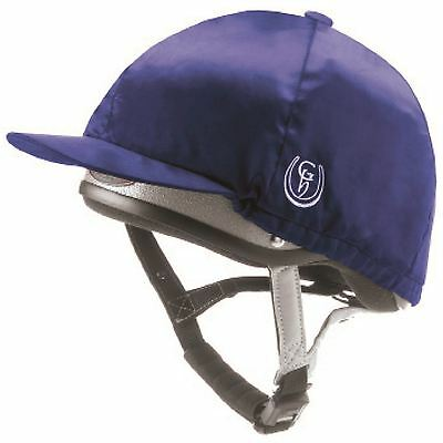 Gatehouse HS1 / RXC1 Hat Silk Cover Navy or Black - Medium or Large