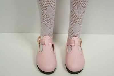"LT PINK T-Strap Cut Out Doll Shoes For 10/"" Ann Estelle Sophie Patsy Debs"