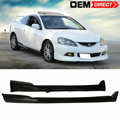 2002-2006 Acura RSX Mugen Style Side Skirt Rocker Panels Ready For Paint PU