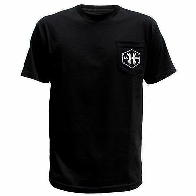 HK Army T-Shirt - Rivet Pocket Tee - Black